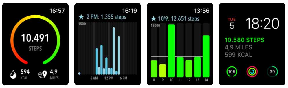 ActivityTracker Pedometer - apple watch Aplicativos para Apple  Watch 40 Melhores Aplicativos para Apple Watch ! ActivityTracker Pedometer apple watch