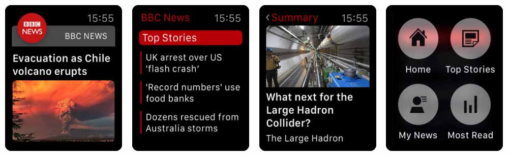BBC News Aplicativos para Apple  Watch 40 Melhores Aplicativos para Apple Watch ! BBC News