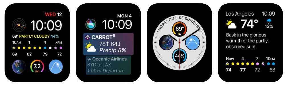 CARROT Weather - Apple Watch