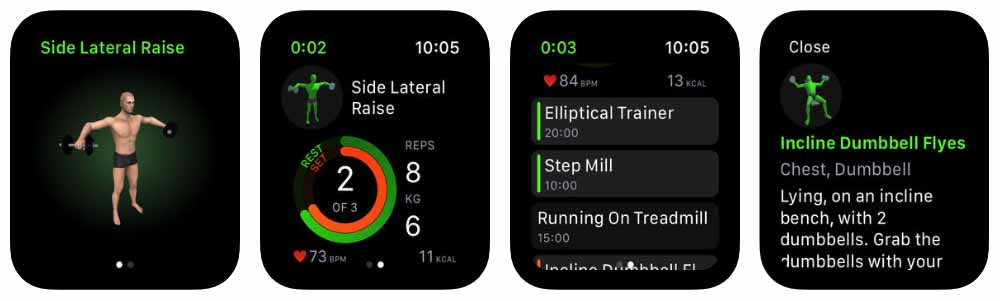 Gymaholic Workout Tracker - apple watch Aplicativos para Apple  Watch 40 Melhores Aplicativos para Apple Watch ! Gymaholic Workout Tracker apple watch