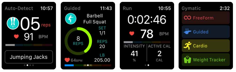 Aplicativos para Apple  Watch 40 Melhores Aplicativos para Apple Watch ! Gymatic Workout Tracker apple watch