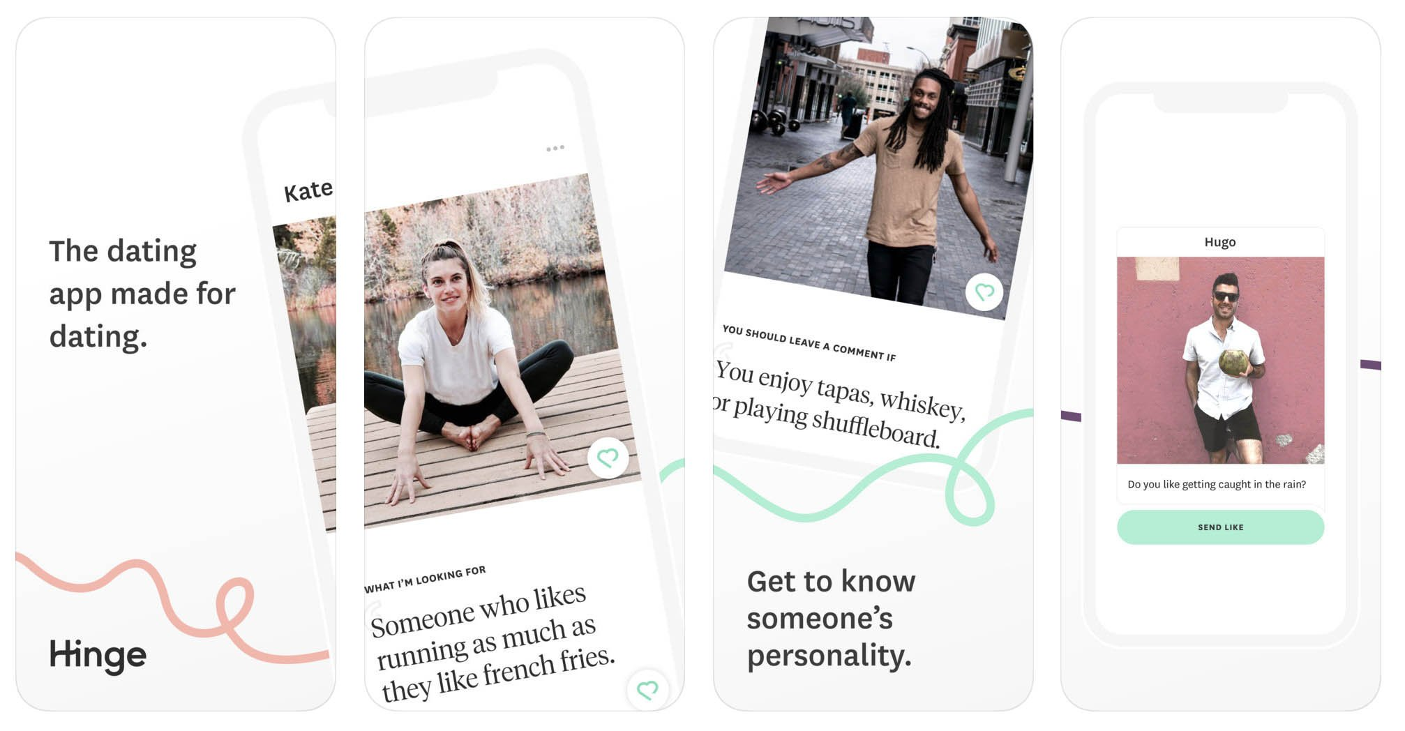 Hinge - Dating & Relationships aplicativo de relacionamento Os Melhores Aplicativos de Relacionamento para iOS e Android Hinge Dating Relationships