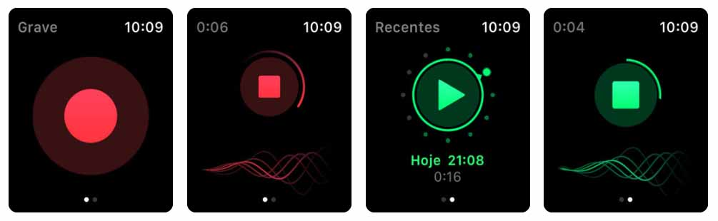 Just Press Record Aplicativos para Apple  Watch 40 Melhores Aplicativos para Apple Watch ! Just Press Record