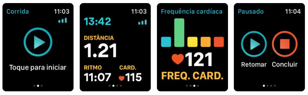 Runkeeper - GPS nas corridas - apple watch Aplicativos para Apple  Watch 40 Melhores Aplicativos para Apple Watch ! Runkeeper GPS nas corridas apple watch