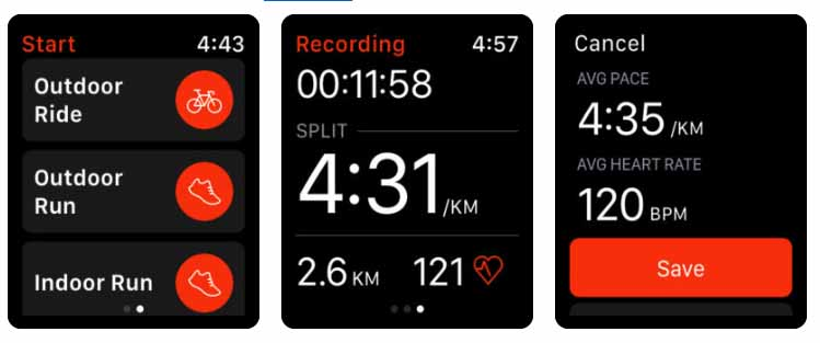 Strava - Correr e pedalar - apple watch Aplicativos para Apple  Watch 40 Melhores Aplicativos para Apple Watch ! Strava Correr e pedalar apple watch