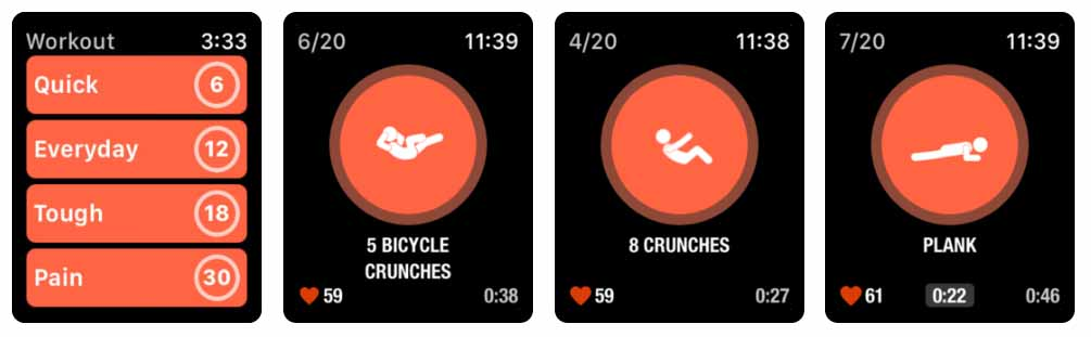 Streaks Workout - apple watch Aplicativos para Apple  Watch 40 Melhores Aplicativos para Apple Watch ! Streaks Workout apple watch
